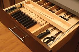 Kitchen Knives Storage Cutlery Storage Knife Storage Dura Supreme Cabinets