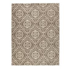 home decorators collection arden mocha 5 ft x 7 ft 6 in