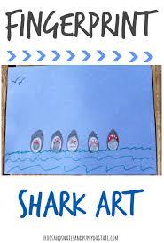 fingerprint shark art fspdt