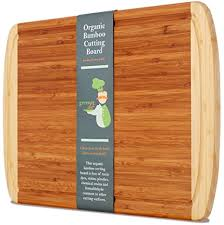 replacement cutting boards for kitchen cabinets amazon com professional grade extra large organic bamboo cutting