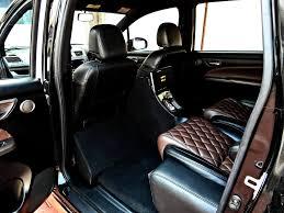 rose gold maserati car custom maruti ertiga rear cabin rose gold image indian autos blog