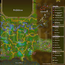 Oldschool Runescape World Map by Roving Elves Quests Tip It Runescape Help The Original