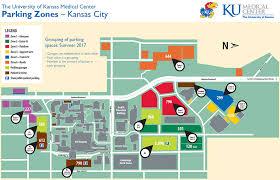 map zones parking color zone maps kumc kansas city cus