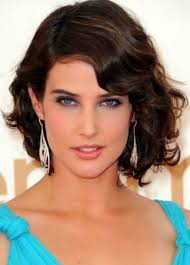 to short haircut for wavy hair medium hairstyles for thick hair