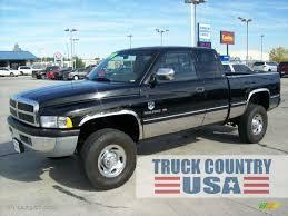 Dodge Ram 97 - 1997 black dodge ram 2500 laramie extended cab 4x4 55450584