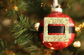 easy handmade santa ornament tutorial home decor