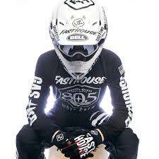 motocross jerseys fasthouse new mx vintage 805 shield air cooled vented black
