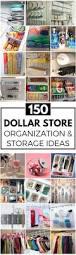 Pinterest Dollar Store Ideas by 150 Diy Dollar Store Organization And Storage Ideas Prudent