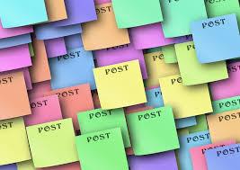 pense bete bureau illustration gratuite liste note mémoire pense bête image
