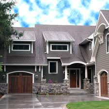 michigan house update new windows brown roofs exterior house