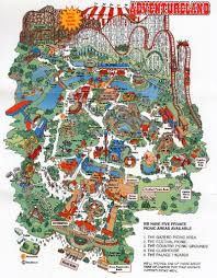 Iowa Map Of Usa by Adventureland Iowa Where I Rode My Very First Roller Coaster The