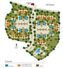 las lomas apartments site plan irvine campus housing authority