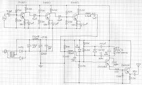Transformer Coupled Transistor Amplifier Schematic Tsd
