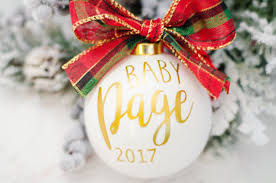 we re expecting ornament pregnancy reveal baby reveal