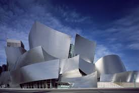 frank gehry and deconstructivist architecture modernist walt disney concert hall los angeles california designed by architect frank gehry