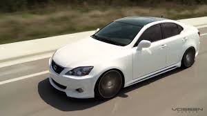 lexus vossen wheels lexus is250 on 20 vossen wheels youtube