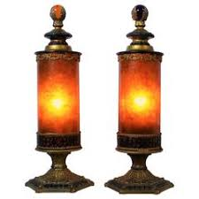 arts and crafts table lamps 82 for sale at 1stdibs