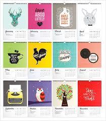 design wall calendar 2015 the best wall calendar of 2015 from 20 beautiful options
