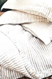 Best 25 Pottery Barn Duvet Ticking Stripe Quilted Bedding Incredible Thatcher Duvet Cover