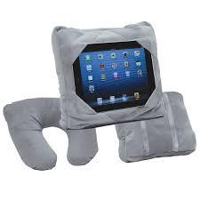 porta tablet auto gogo pillow 3 in 1 cuscino porta tablet viaggio poggiatesta auto