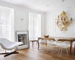 White Wire Chair Harry Bertoia Wire Chair Furniture Design Mid Century Modern