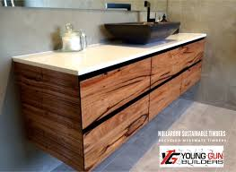 recycled timber nullarbor sustainable timber benchtops