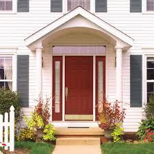red front door front door awning style u2013 home design ideas