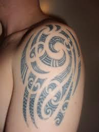 mens tattoos tribal shoulder tattoos for men