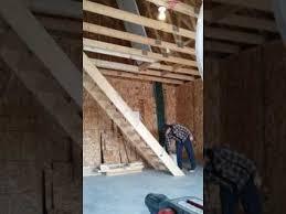 garage attic stairs stair design