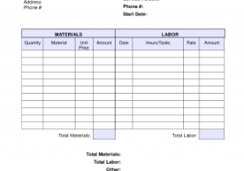 labor invoice template free and labor invoice template free free