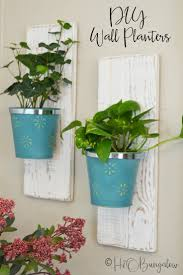 planters that hang on the wall diy wall hanging planters h20bungalow