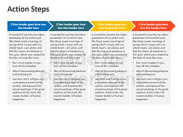 powerpoint action plan template innovative action plan template