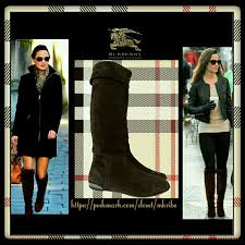 s burberry boots sale 85 burberry shoes burberry knee high brown boots size 6 5