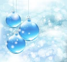 blue christmas blue christmas card background vector graphic free vector in