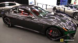 custom maserati interior 2016 maserati gran turismo mc exterior and interior walkaround