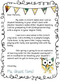teacher to parent letter template thank you letter to parents 9