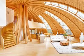 geodesic dome home interior for 1m you can buy a dome home in paltz that rotates