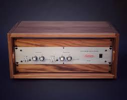 Wood Audio Rack Walnut Studio Rack Mount