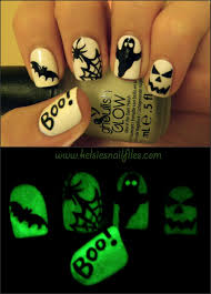 kelsie u0027s nail files ghoulish glow