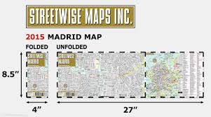 Madrid Metro Map by Streetwise Madrid Map Laminated City Center Street Map Of Madrid