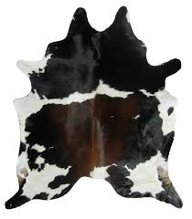 Animal Area Rug Furniture Accessories Area Rugs Cow Hide Look Real Skin Animal