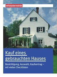 Kauf House Kauf Eines Gebrauchten Hauses Besichtigung Auswahl Kaufvertrag