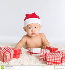 santa baby boy stock photo image 45446055