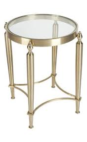 gold drum coffee table occasional tables interiors online