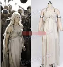 Game Thrones Halloween Costumes Daenerys Daenerys Targaryen Costume Game Thrones Unburnt Mother