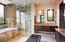 Spanish Style Bathroom by Modern Mansion Master Bathroom And Image 6 Of 21 Auto Auctions Info
