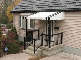 Exterior Door Awnings Porch Awnings Ideas How To Choose The Best Protection For Your Home