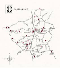 paso robles winery map paso robles wine tasting map cab collective members