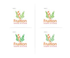Kitchen Logo Design Playful Personable Logo Design For Fruition Vegan Kitchen By Mb