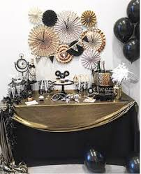 New Years Eve House Decorations by New Years Party New Year Eve Party Decorations Black And Gold